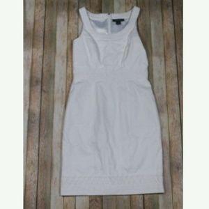 White House Black Market Lattice Sheath Dress New!